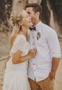 Beach wedding - groom attire ideas